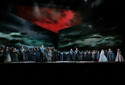 The Storm Scene from Act I of Verdi's Otello (Photo: Ken Howard / Met Opera)