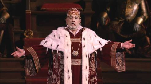 Placido Domingo as Simon Boccanegra (Photo: Ken Howard / Met Opera)