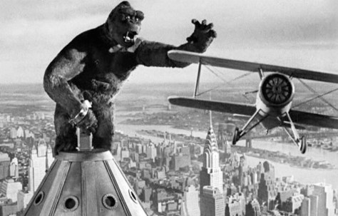 Top of the world: Kong meets his match