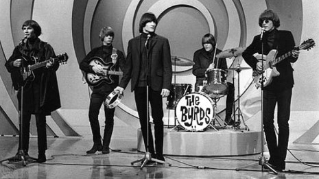 "The Byrds singing ""Mr. Tambourine Man"" on The Ed Sullivan Show"