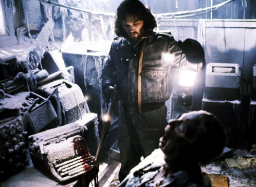 Kurt Russell as Macready in John Carpenter's The Thing