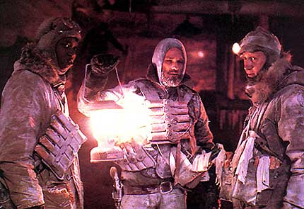 A cold day in hell: Kurt Russell (center) as MacReady in The Thing