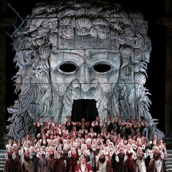 Mozart's Idomeneo, as staged by the Met Opera