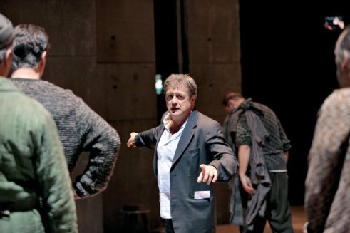 The late Patrice Chereau (1944-2013) directing From the House of the Dead in 2009