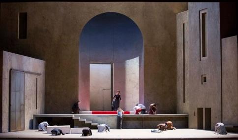 Richard Peduzzi's set for the Met's Elektra
